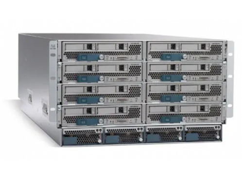 CISCO SYSTEMS UCS 5108 BLADE SERVER AC2 CHASSIS