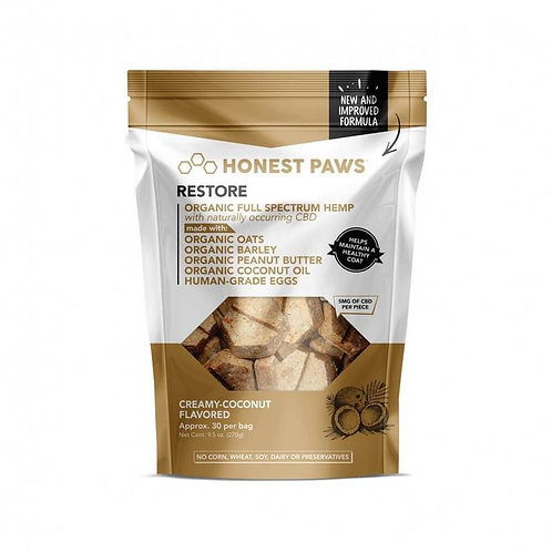 Honest Paws - Restore Bites with Creamy Coconut Flavor