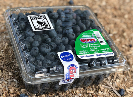 Arriving in Stores: Bee Better Certified Blueberries