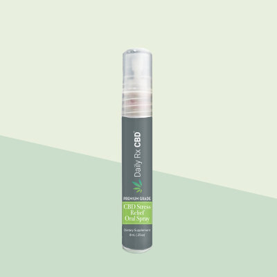 Daily RX CBD - Stress Relief Oral Spray 52mg