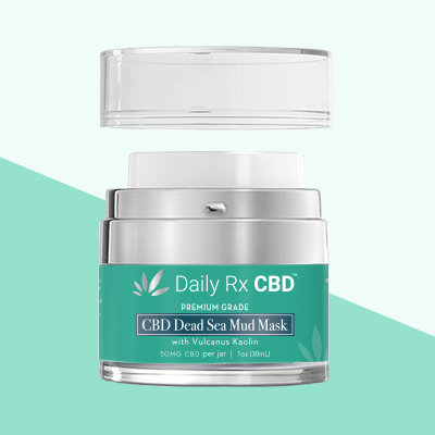 Daily RX CBD - Dead Sea Mud Mask 50mg