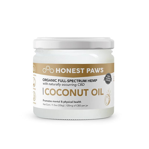 Honest Paws - Coconut Oil For Dogs Infused with CBD