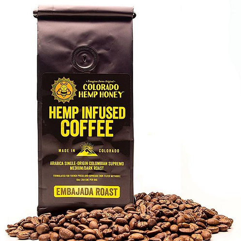 Colorado Hemp Honey - Hemp Infused Coffee 10 OZ