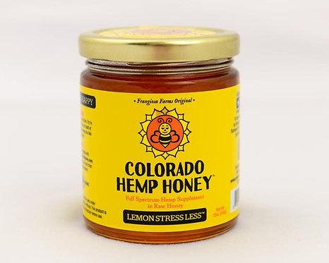 Colorado Hemp Honey - Lemon Stress 6oz 500mg Full Spectrum