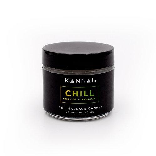 CHILL — Kannai CBD Massage Candle 2 oz