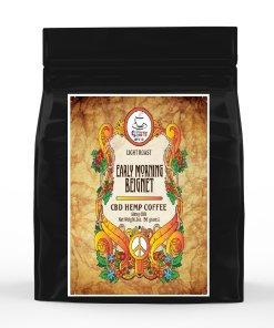 Flower Power CBD Coffee - Early Morning Beignet – 2 oz