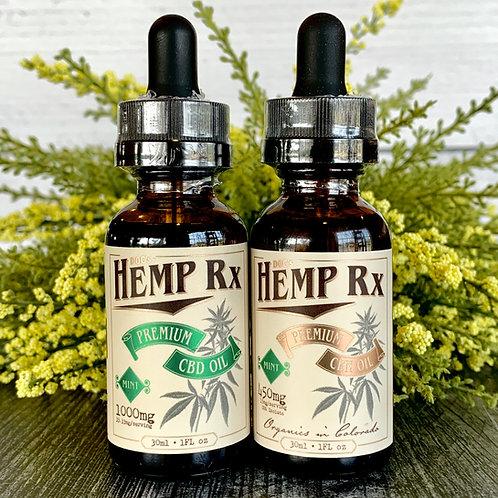 Doc's Hemp RX - Liposomal CBD & CBN Oil – Mint - Day & Night Combo Pack
