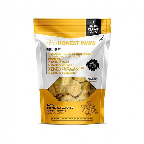 Honest Paws - Relief Bites with Tasty Turmeric Flavor