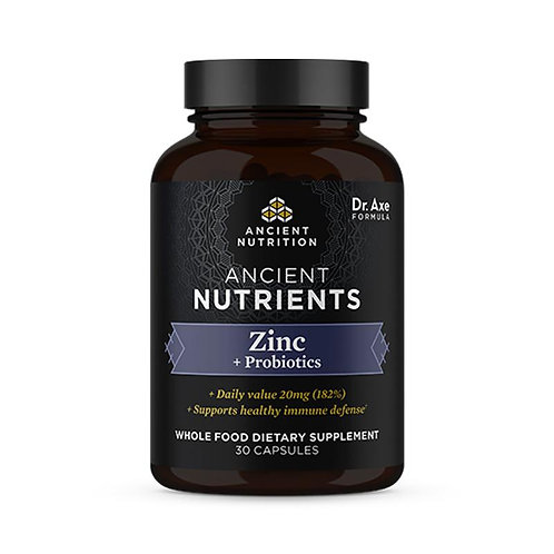 Ancient Nutrition - Zinc + Probiotics
