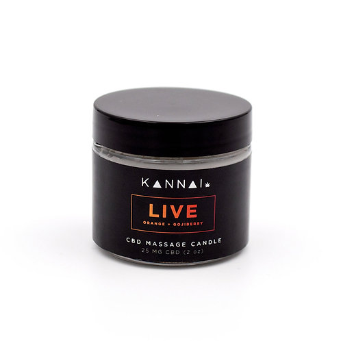 LIVE — Kannai CBD Massage Candle 2 oz