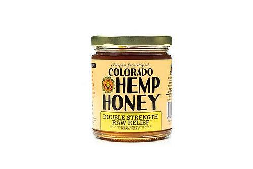 Colorado Hemp Honey - Double Strength RAW Relief 6oz 1000mg Full Spectrum