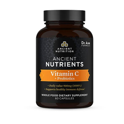 Ancient Nutrition - Vitamin C + Probiotics