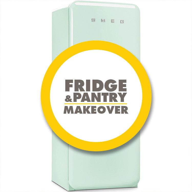 Fridge & Pantry Makeover