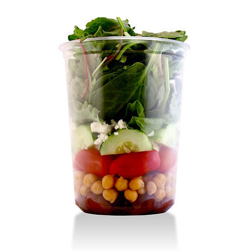 Greek Stacked Salad