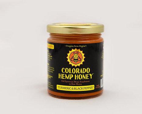 Colorado Hemp Honey - Turmeric & Black Pepper Creamed 6oz 500mg Full Spectrum