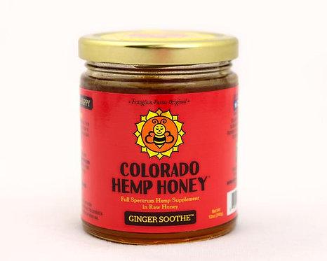 Colorado Hemp Honey - Ginger Soothe 6oz 500mg Full Spectrum