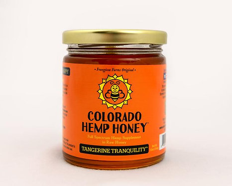Colorado Hemp Honey - Tangerine Tranquility 6oz 500mg Full Spectrum