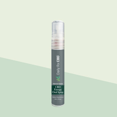 Daily RX CBD - Energy Boost Oral Spray 52mg