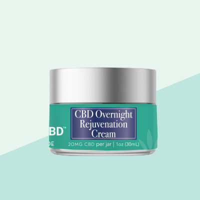 Daily RX CBD -  Overnight Rejuvenation Cream 20mg
