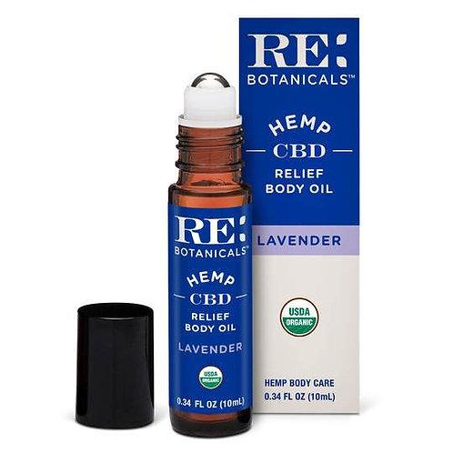 RE: Botanicals - Relief Body Oil
