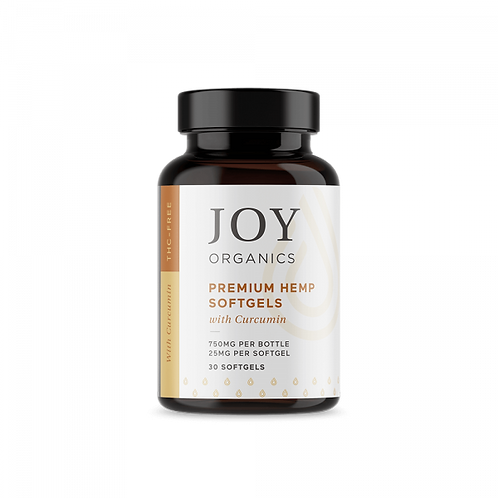 Joy Organics - Softgels with Curcumin