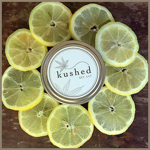 Kushed - LemonDrop - lemon, basil and hemp