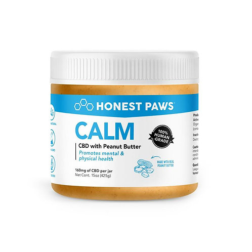 Honest Paws - CALM CBD with Peanut Butter