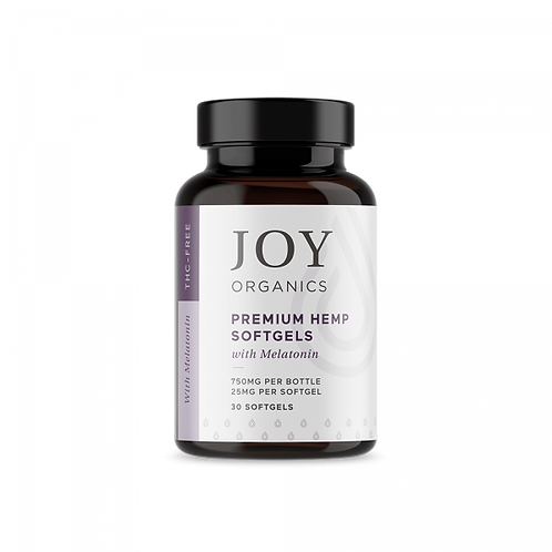 Joy Organics - Softgels with Melatonin for Sleep