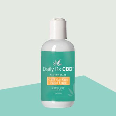 Daily RX CBD - Skin Care Facial Toner 20mg