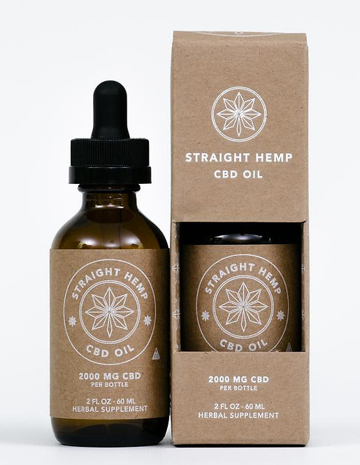 Straight Hemp Full Spectrum Hemp Oil