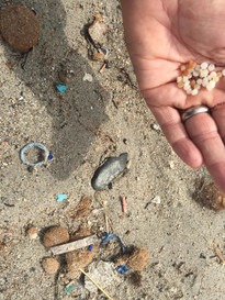 Collecting and reporting nurdles