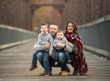 Family photography over the years with Ridgefield based photographer