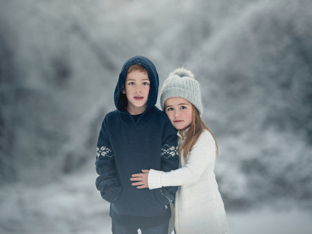 Snow days are coming! Winter portrait promo inside!