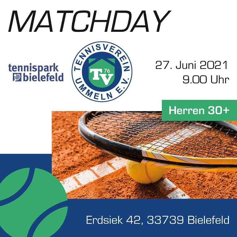 Herren 30 Auswärtssspiel vs. Tennispark Bielefeld 1