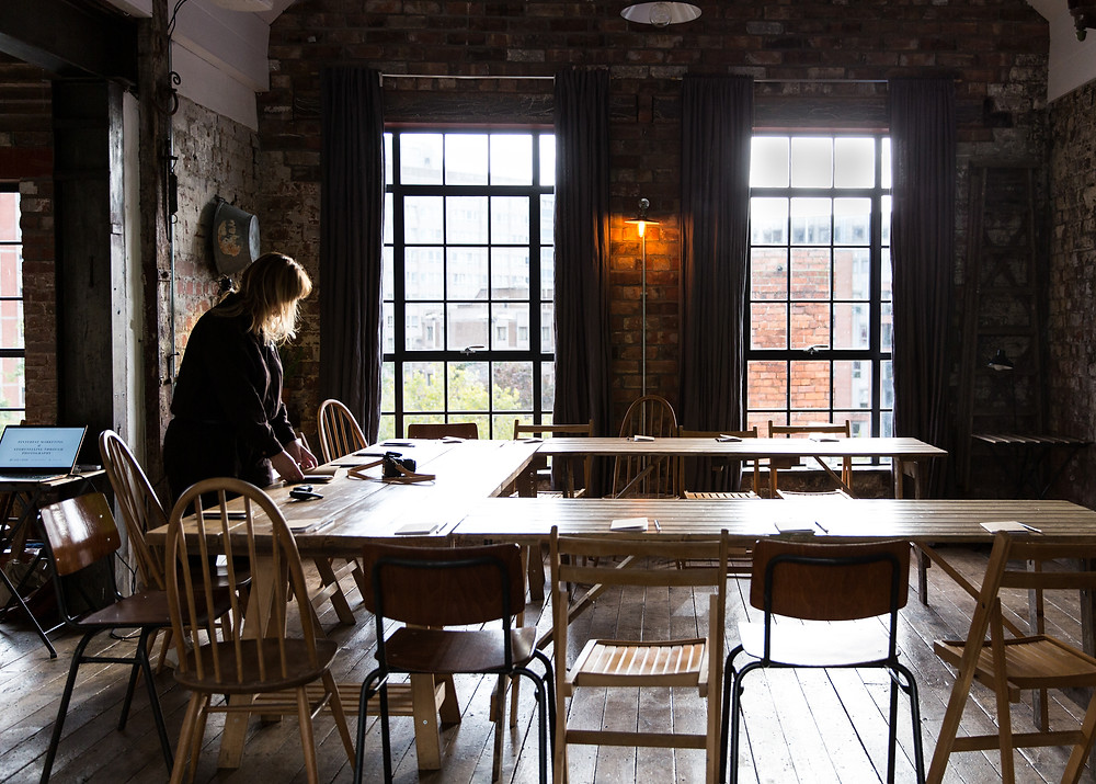 Interior of The Forge, taken by Catherine Frawley,  Bristol before the workshop