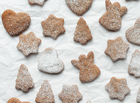 spiced gingerbread biscuits