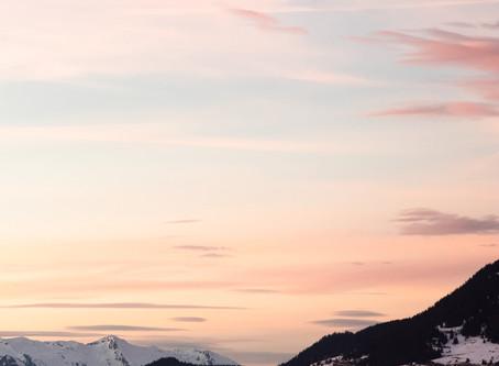 an alpine escape to courchevel