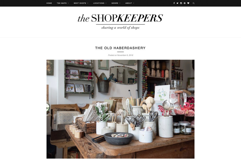 the shopkeepers website