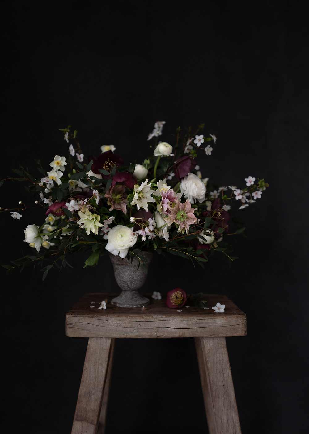 moody blooms byt Julia Smith, photographer, Humphrey & Grace