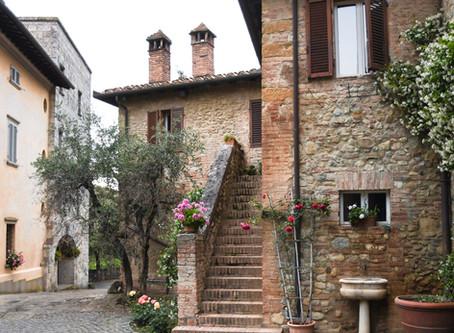 of a Tuscan retreat