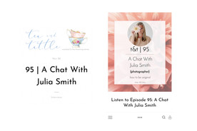 Tea & Tattle podcast Nov 2019