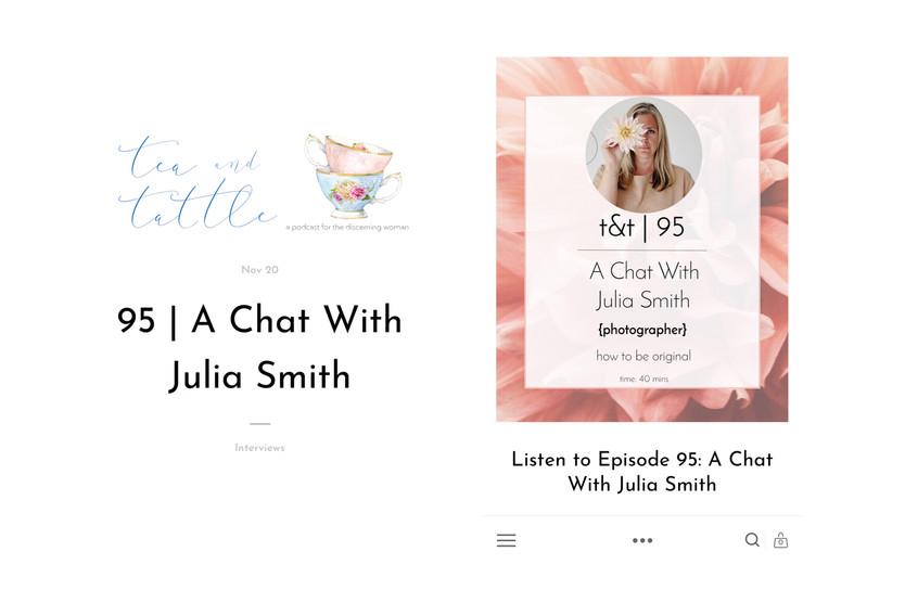 Tea & Tattle podcast Nov 2019
