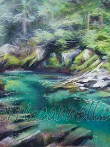 mountain pool - SOLD