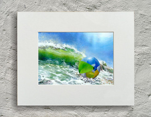 Beachball and Surf