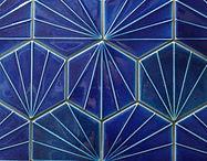 Hexagonal Indigo Blue.JPG
