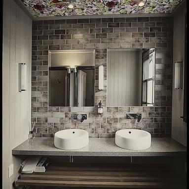 Aluminium Block & Basalto Floor Tiles (3