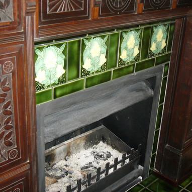 Coromandel Green with Porteous Tile Inse