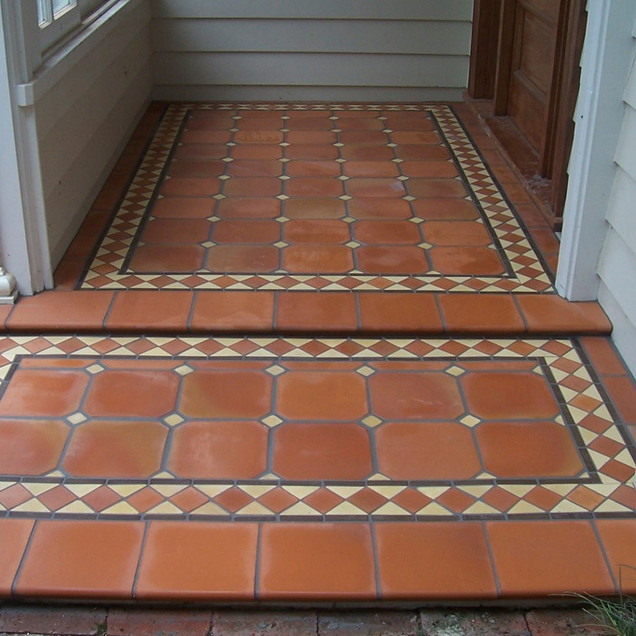 Rustic Octagonal - with Carterton Mosaic