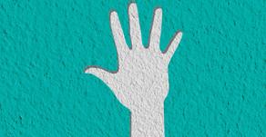 זמן צופיות ביתי: טביעת כף יד מגבס