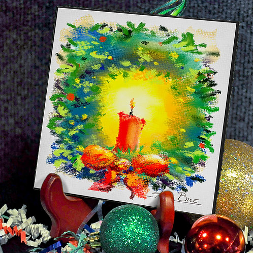 """""""Candle in Wreath"""""""